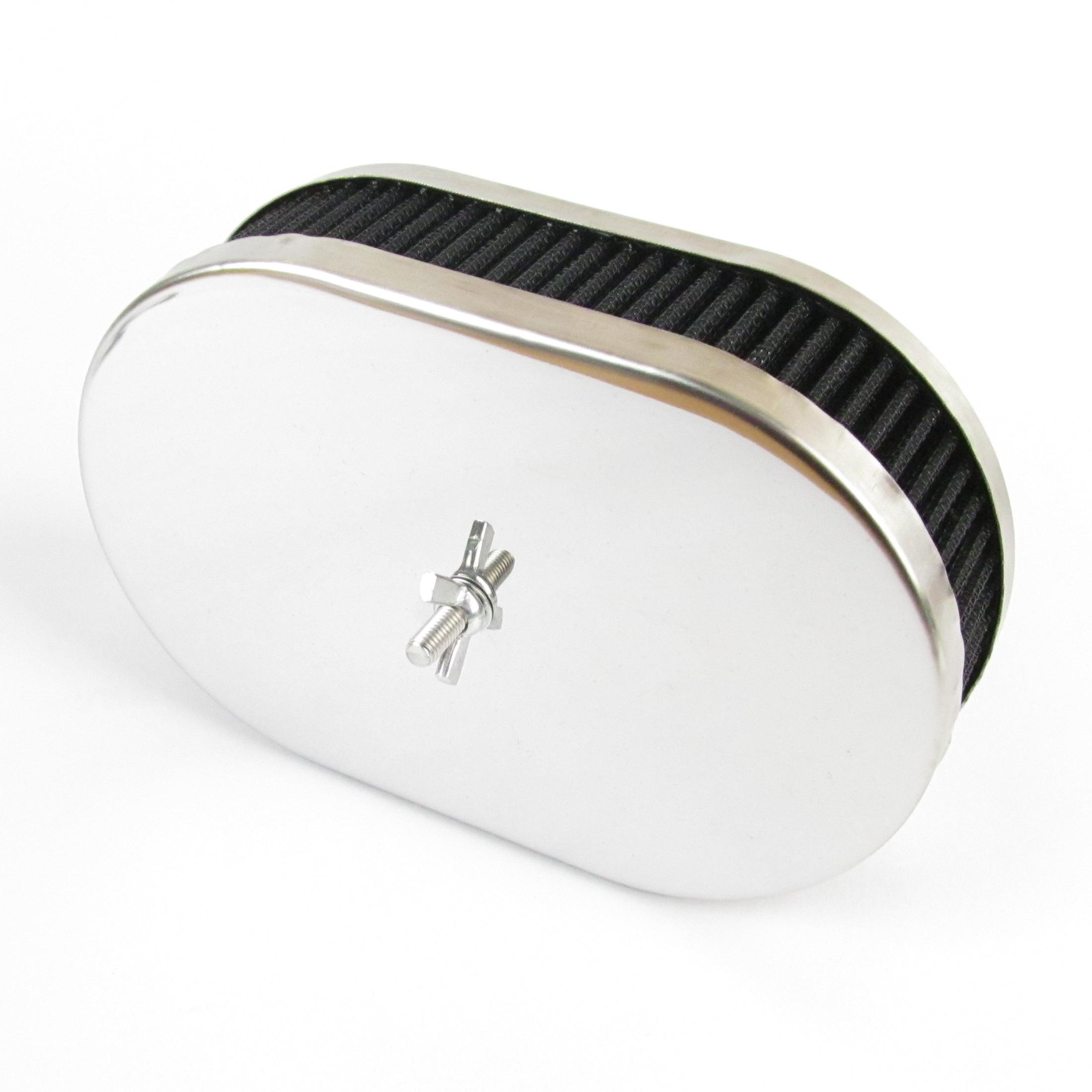 WEBER / DELLORTO / SOLEX DCOE / DHLA / ADDH TWIN CARB AIR FILTER / PUHASTUS (45mm sügav)