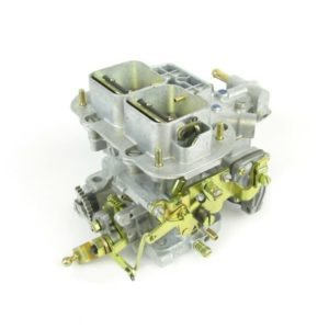 GENUINE WEBER 38 DGMS Mallonga Priskribo TWIN-CHOKE CARBURETTOR (MANUAL CHOKE)
