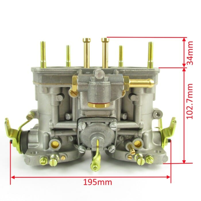 Genuine Weber 40 IDF carburettor (No starter/choke)