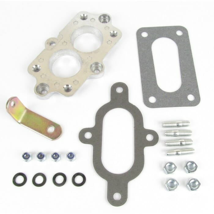 PIERBURG 2E2 or 2E3 -> WEBER CARBURETTOR - MANIFOLD CONVERSION ADAPTER KIT