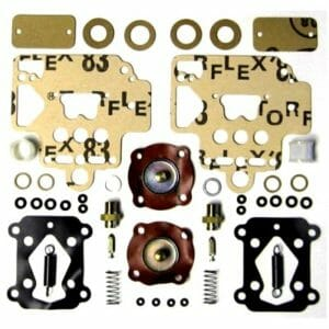 DELLORTO DHLA 48 CARBURETTOR GENUIN GASKET / SERVICE / REPAIR KIT (PAIR)
