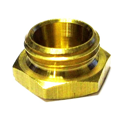 WEBER 38 / 40 / 42 / 45 / 48 / 50 DCOE TWIN CARBS / CARBURETTORS - FUEL FILTER BRASS COVER