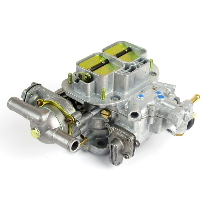 GENUINE WEBER 38 DGAS TWIN-CHOKE CARBURETTOR (WATER CHOKE)