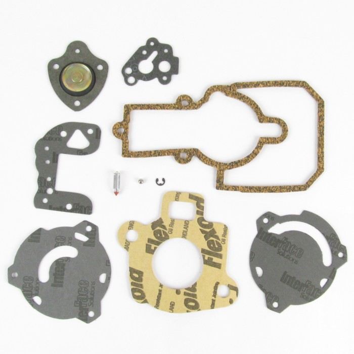 Ford / Fomoco / Enginecraft VV Carb / Carburettor Service / Kit di gasket
