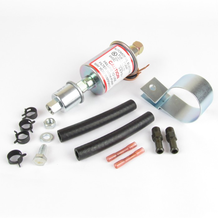 6V ELECTRIC FUEL PUMP KIT FOR CARBURETOR SYSTEMS