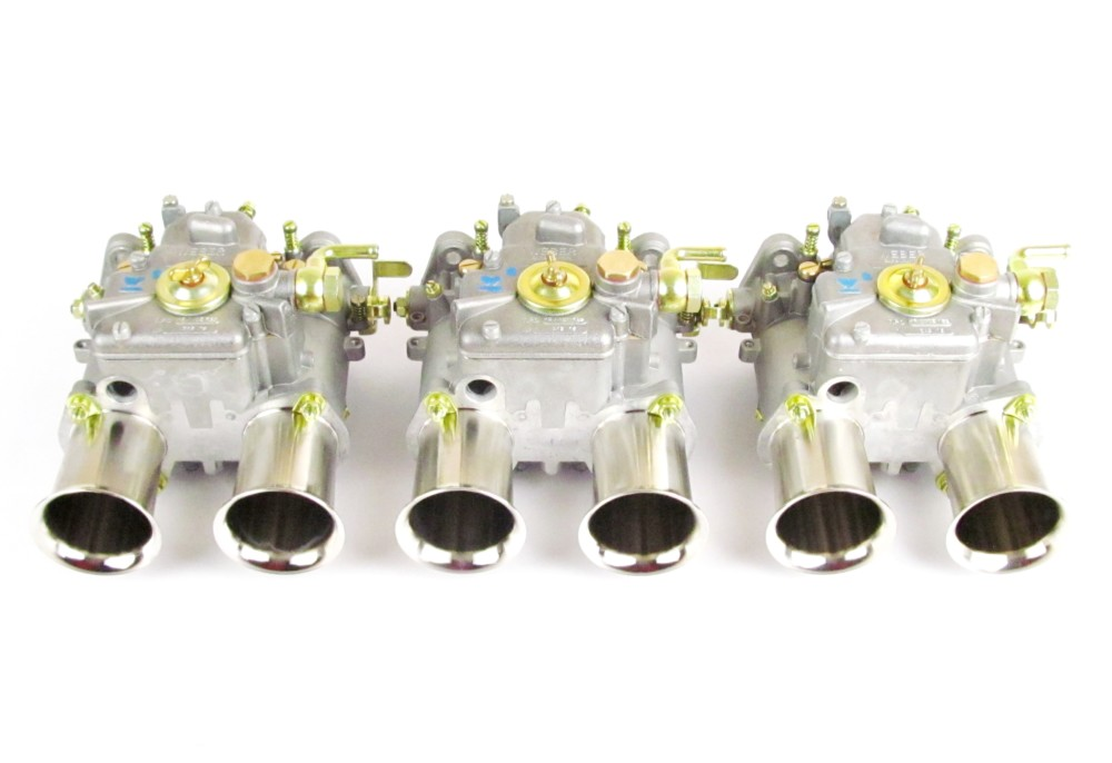 WEBER 45 DCOE TWIN CARBS DATSUN 240/260/280/NISSAN/BMW M20/M30/JAGUAR XK
