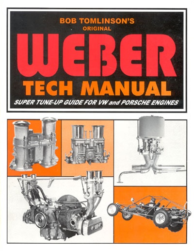 WEBER IDF / IDA TWIN CARBS VW AIRCOOLED MOTOR TUNING BOOK / MANUAL