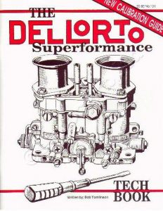 DELLORTO DRLA TWIN CARBS/CARBURETTORS - TUNING BOOK/MANUAL/GUIDE