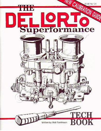 DELLORTO DRLA TWIN CARBONS / CARBURADORS - TUNING BOOK / MANUAL / GUIDE