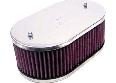 WEBER 32/32-32/36-38/38 DGV/DGAV/DGMS/DGAS TWIN CARB - K&N AIR FILTER 63MM
