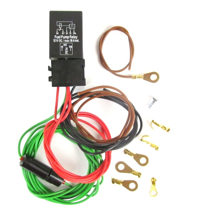 WEBER/DELLORTO/SOLEX/SU/SK/MIKUNI 6V/12V ELECTRIC FUEL PUMP CUT-OFF RELAY