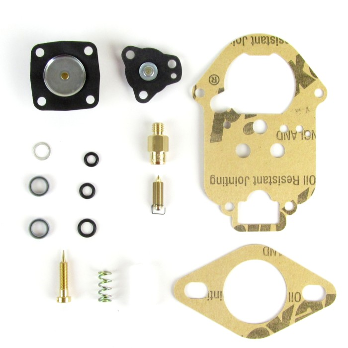 WEBER ICT / ICH 34 CARB SERVICE / GASKET KIT - VW BEETLE / KAMER / LAND ROVER ETC