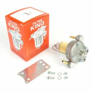WEBER / DELLORTO / SU / SOLEX CARBS MALPASSI FILTER KING BRÆNDSTOF PUMP TRYKK REGULATOR