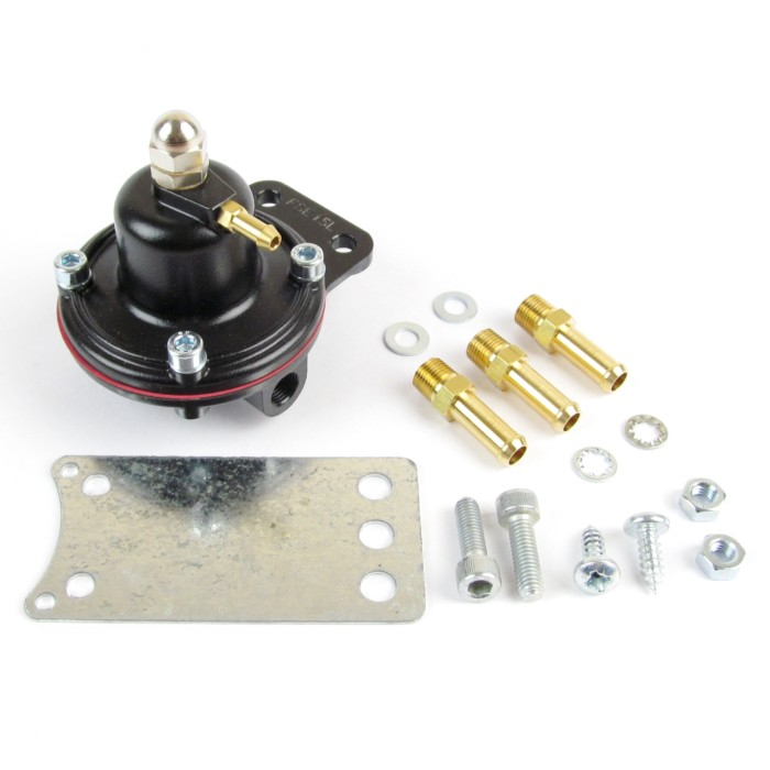 WEBER/DELLORTO INJECTION->CARBS STEPDOWN FUEL PUMP PRESSURE REGULATOR