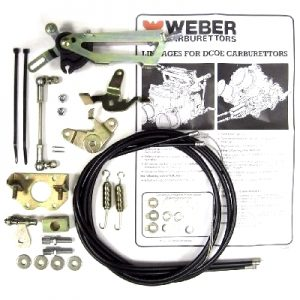 WEBER DCOE/DCO/SP TWIN/TRIPLE CARBS UNDERSIDE THROTTLE LINKAGE KIT