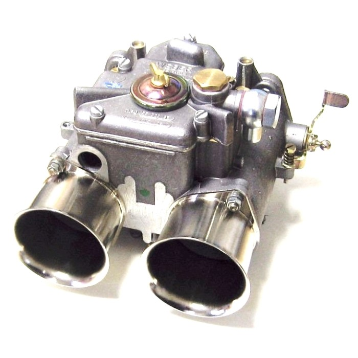 GENUINE WEBER 55 DCO/SP TWIN CARB/CARBURETTOR (LEFT-HAND)