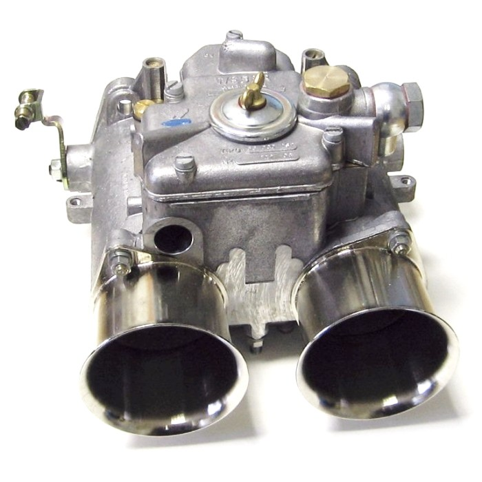 GENUINE WEBER 55 DCO/SP TWIN CARB/CARBURETTOR (RIGHT-HAND)