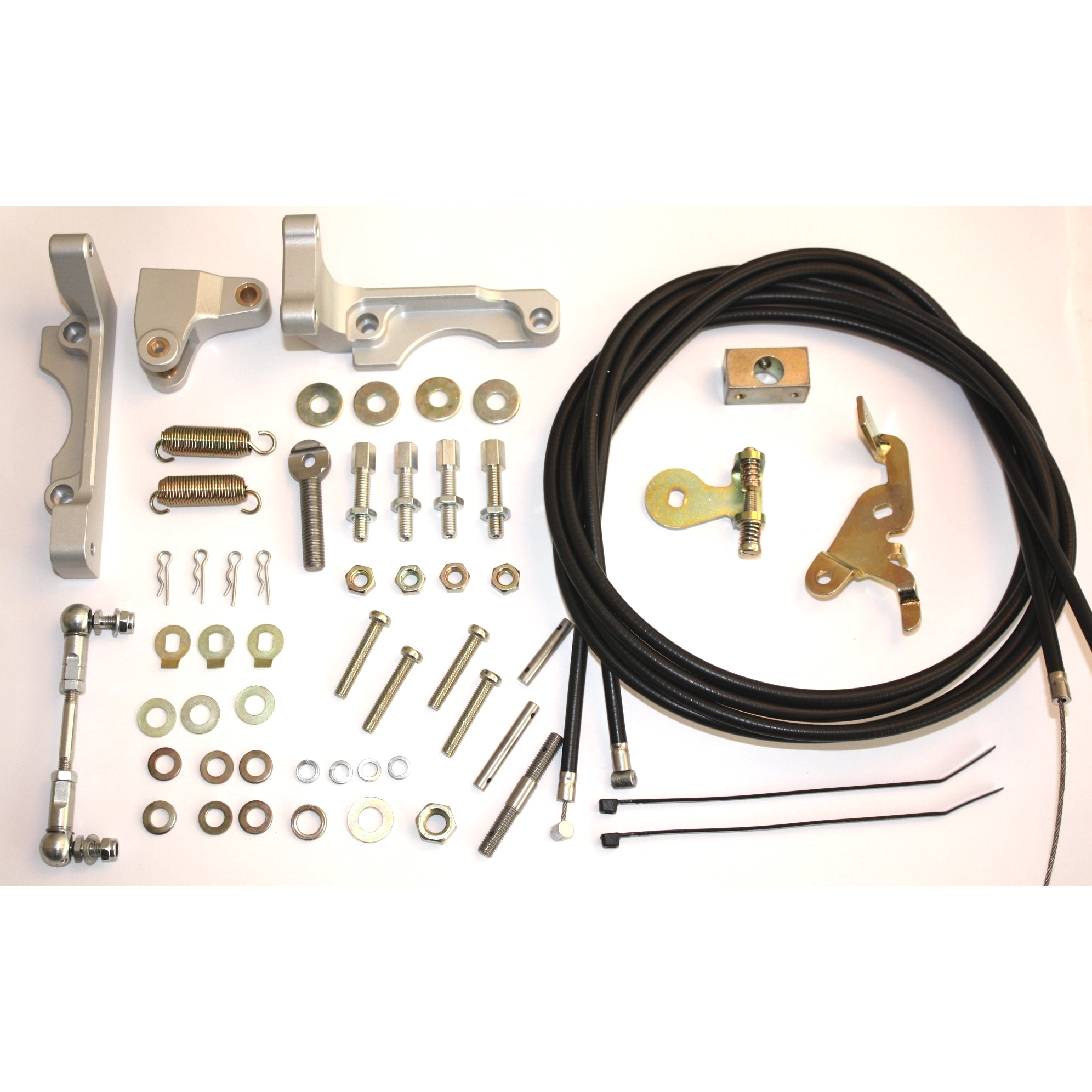 WEBER 38-55 DCOE / DCO / SP DOUBLE CABLE CARBURATEUR / CARB THROTTLE LINKAGE KIT