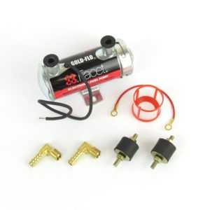 FACET 'RED TOP' ELECTRONIC 12V FUEL PUMP KIT (200 + BHP)