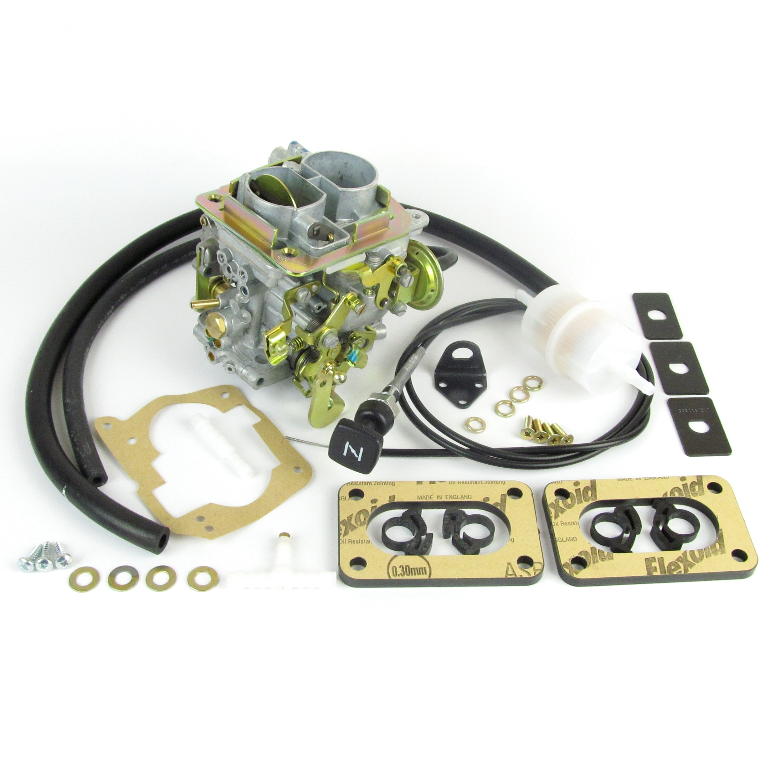 WEBER DMTL 32/34 CARB KIT FORD FIESTA XR2 1.6 OHV/CVH & ESCORT XR3 1.6 CVH ENGINE