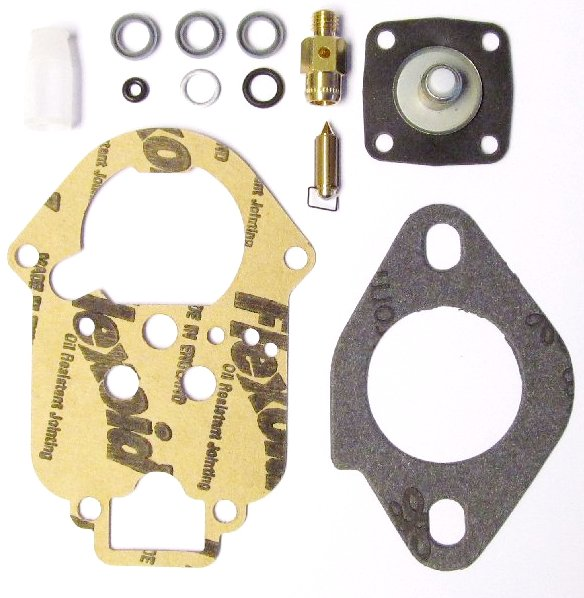 WEBER 32 و 34 ICT CARB SERVICE / GASKET KIT CLASSIC VW BEETLE / CAMER AIR-COOLED ENGINE