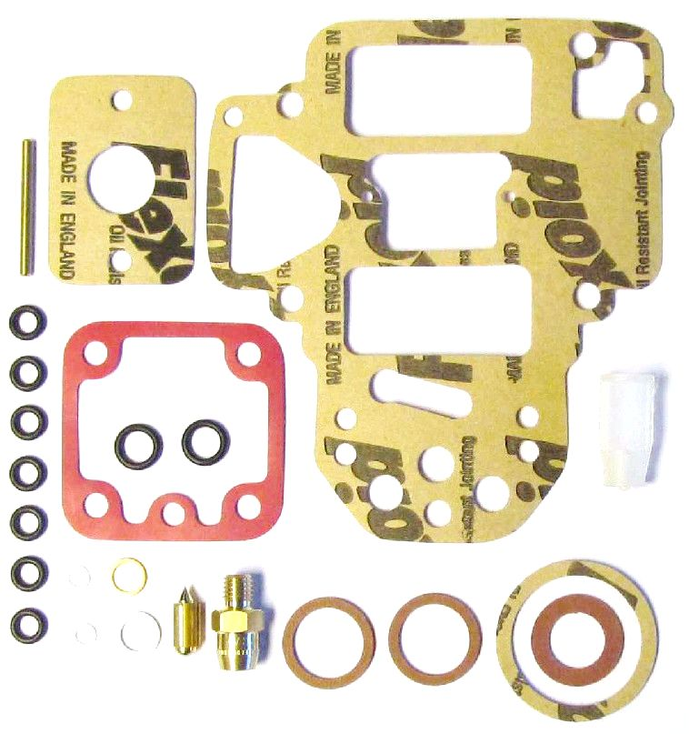 WEBER 40/45 DCOE 151-152 & 48/50/55 DCO/SP TWIN CARBS SERVICE/GASKET KIT