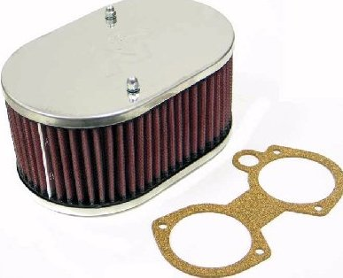 WEBER 48, 50 & 55 DCO / SP TWIN CARBS K & N AIR FILTER ASSEMBLY (83mm DEEP)
