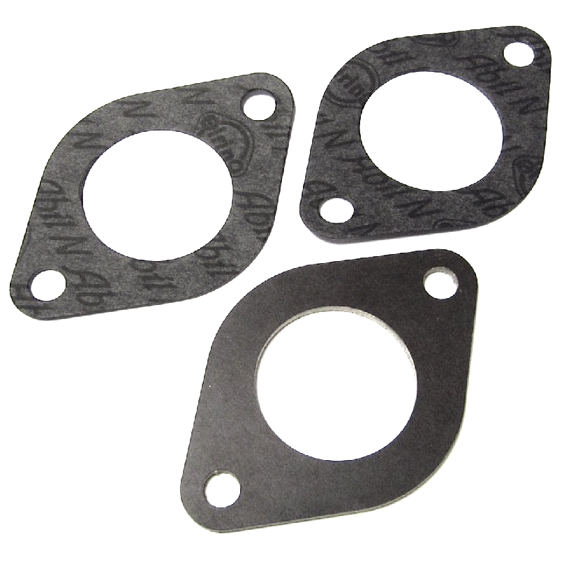 WEBER / DELLORTO IDF / DRLA TWIN CARBONS BASE PLATE INSULATOR DE CALOR SPACER / GASKET