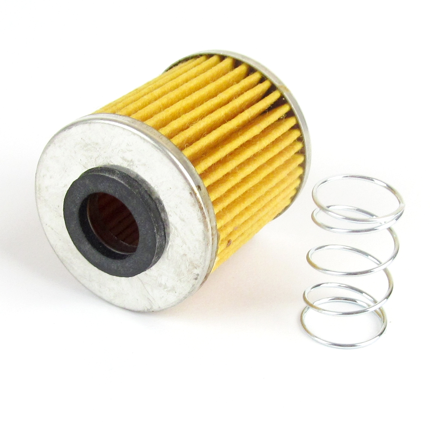 FISPA1 Fuel filter replacement element & spring (small type)