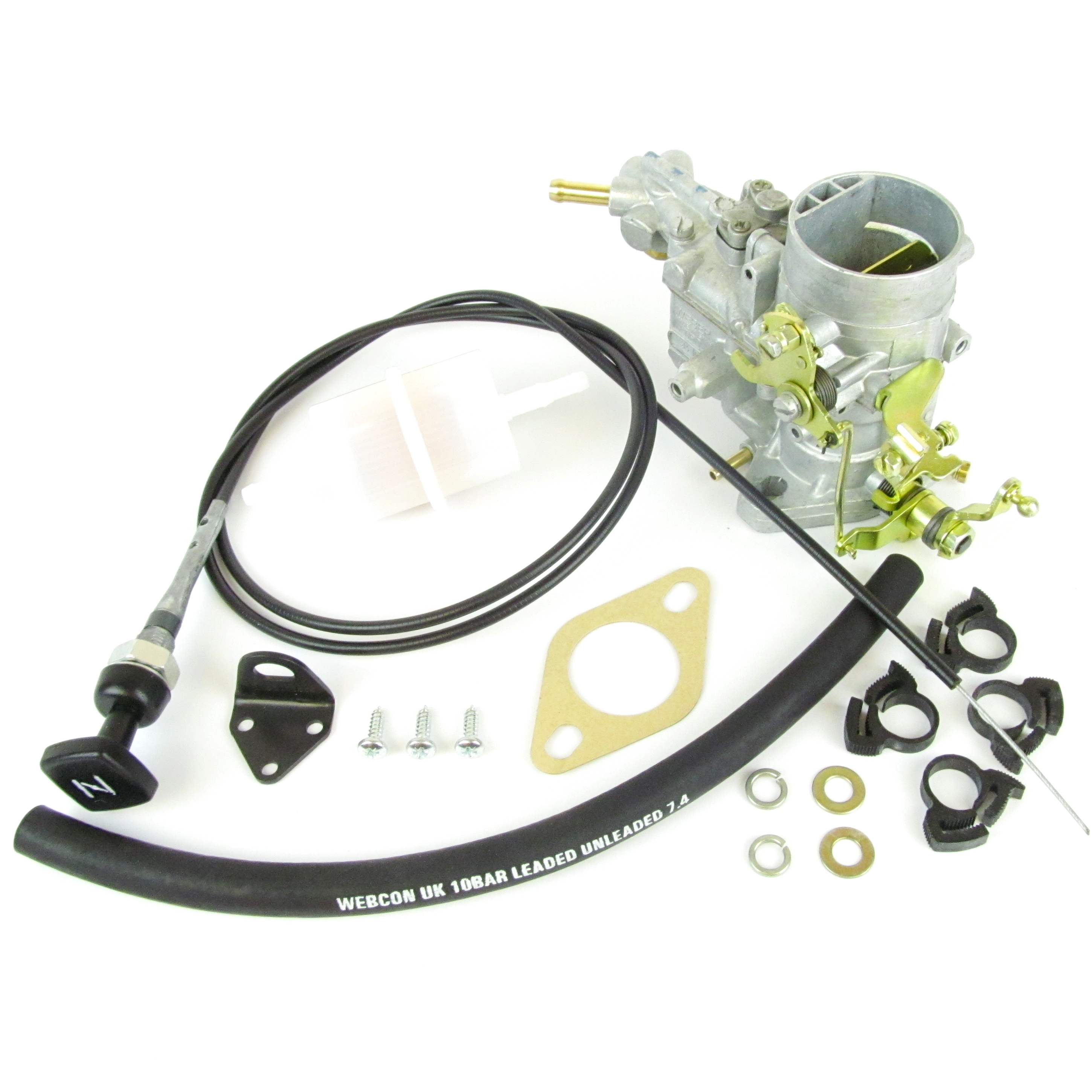 WEBER 34 ICH CARBURETTOR / CARB UPGRADE KIT SAAB 95 / 96 V4 1498CC FORD TAUNUS ENGINE