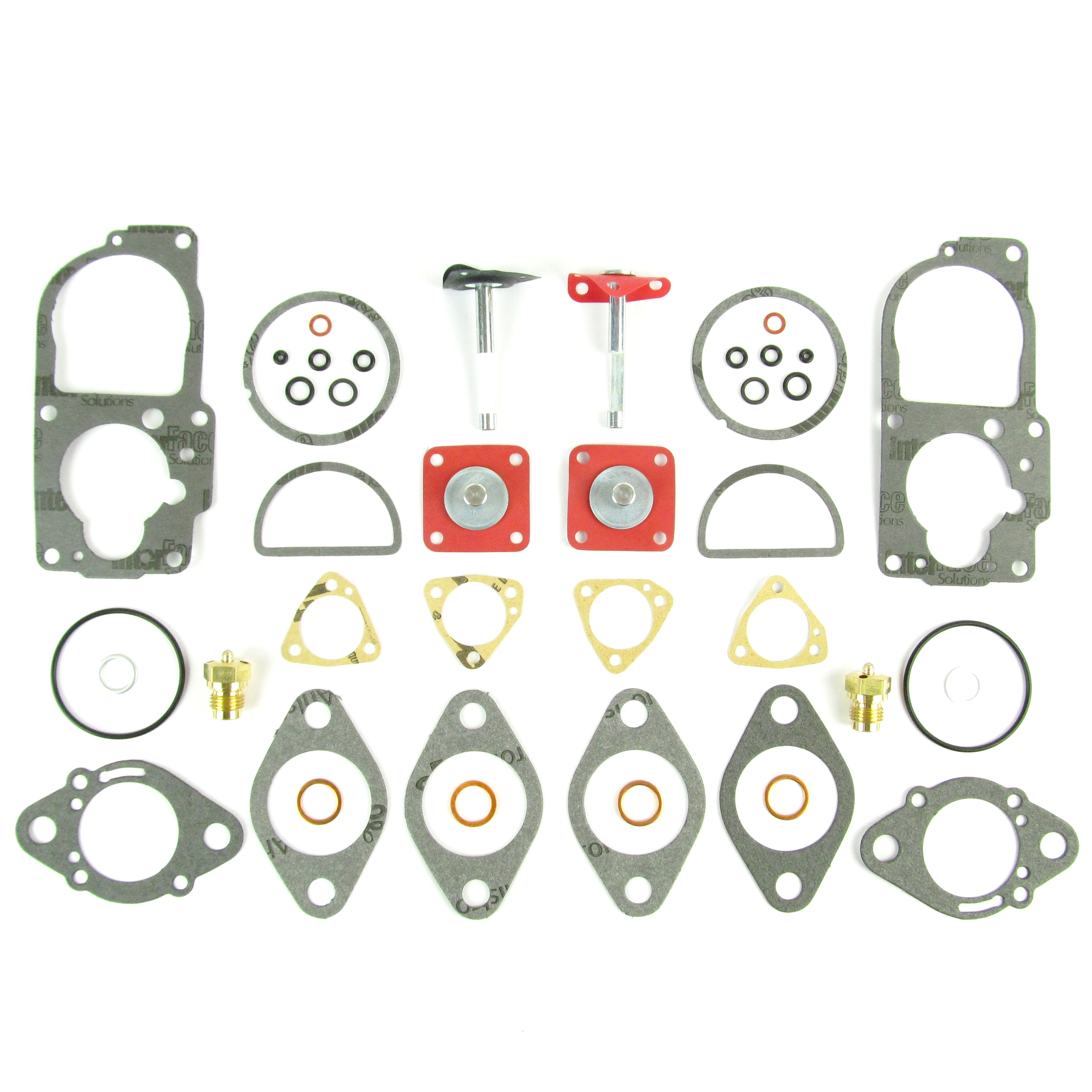 SOLEX 34 PDSIT CARBURETTORI SERVICE / GASKET KIT VW ​​1.7 / 1.8 / 2.0 ENGINE (PARIS)