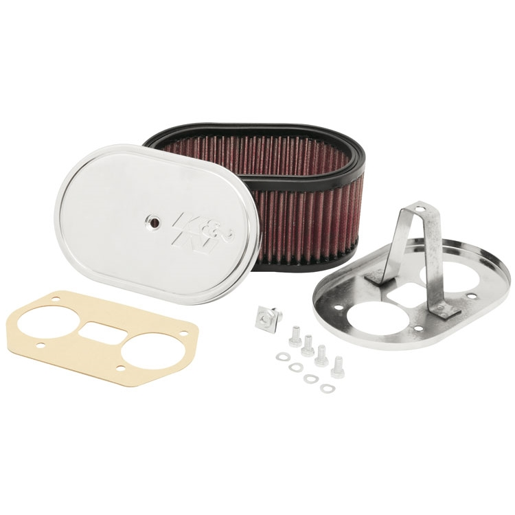 WEBER IDF & DELLORTO DRLA 36,40,44,45 & 48MM TWIN CARBS K & N AIR FILTER ASSEMBLY