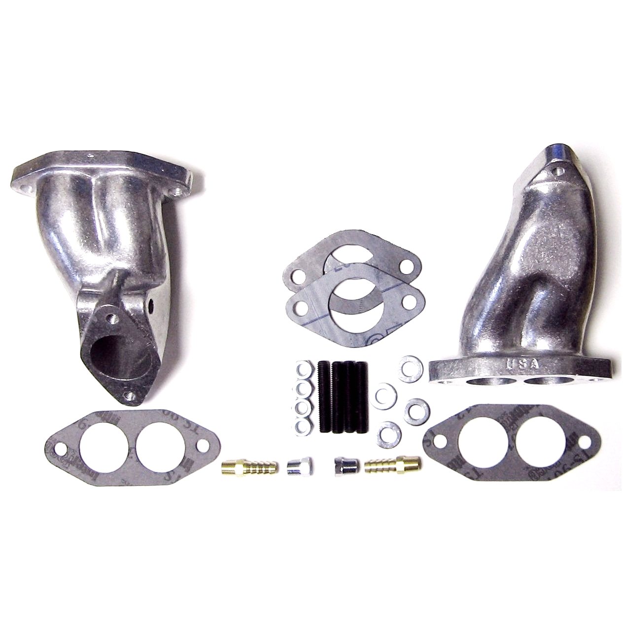 AIR-COOLED VW T1 DUAL-PORT-KOMBRO-CARB MANIFOLD-KIT-CB PERFORMANCE