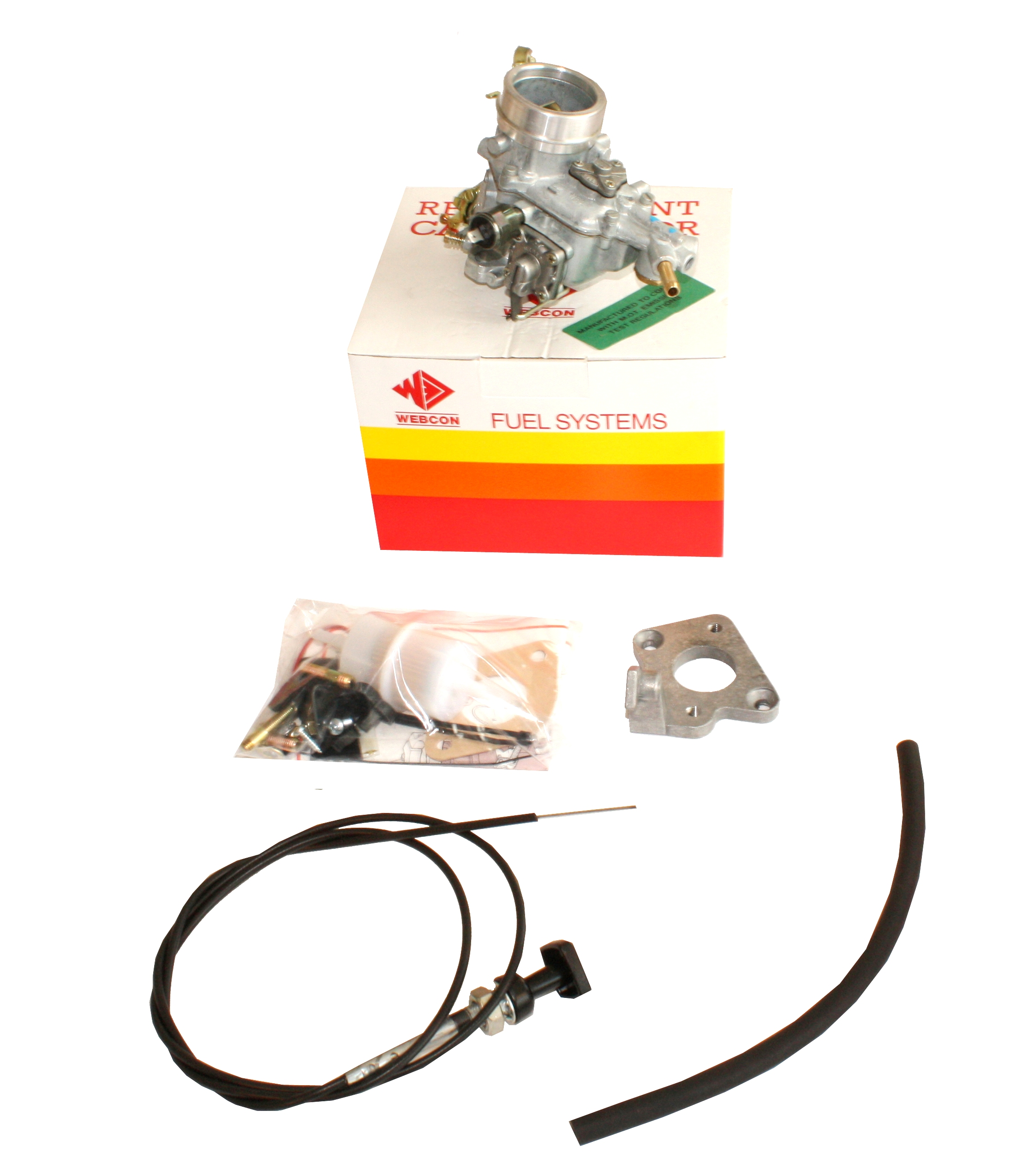 WEBER 34 ICH Carburettor Upgrade KIT for Classic Ford Transit 2.0 OHC 1981-86