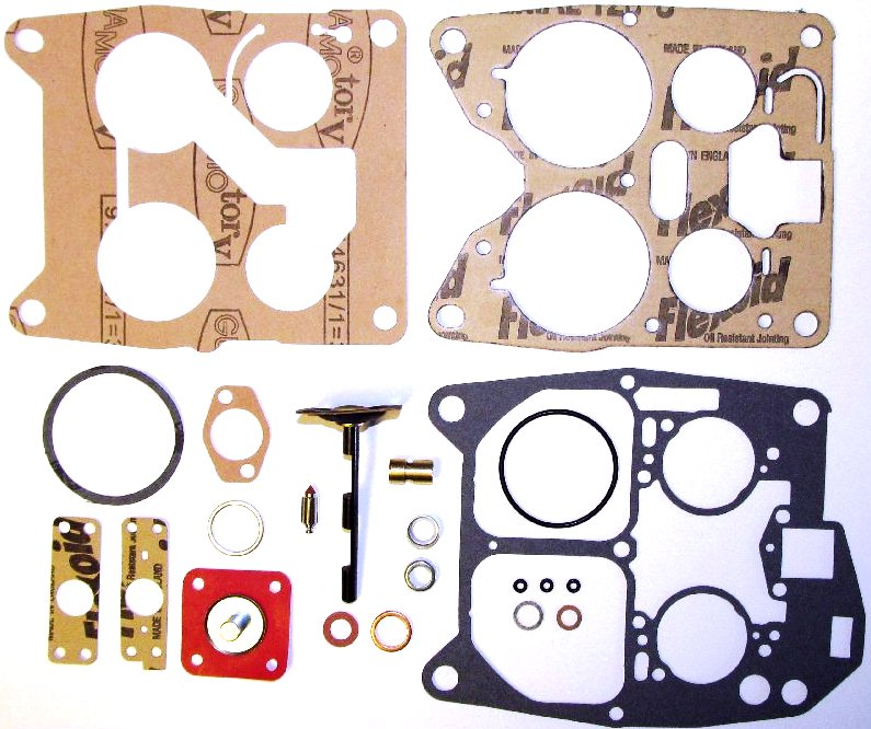 SOLEX 4A1 CArburettor Gasket/Service/Overhaul KIT MERCEDES/BMW/OPEL etc..