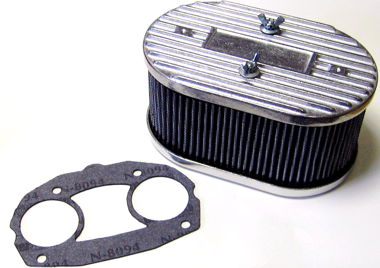Dellorto Air Cleaner : Weber dellorto idf drla twin carbs air filter kit cb
