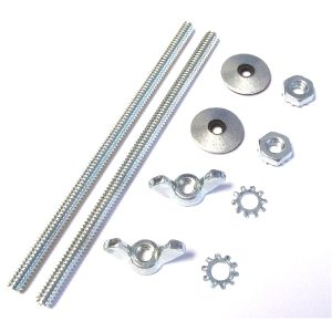 WEBER/DELLORTO IDF/DRLA CARBS CB PERFORMANCE OVAL AIR FILTER STUD FIXING KIT