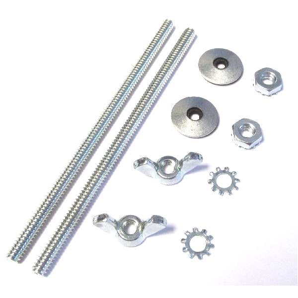 WEBER / DELLORTO IDF / DRLA CARBS CB PERFORMANCE OVAL AIR FILTER STUD FIXING KIT