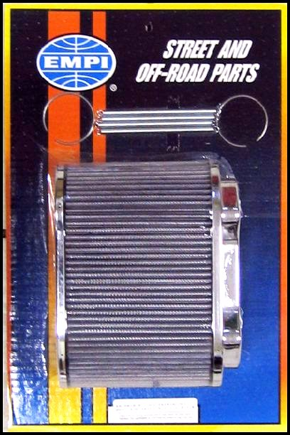 AUGUSTIA 48 IDA TWIN CARBS - EMPI AIR FILTER ASSEMBLY (150mm DEEP)