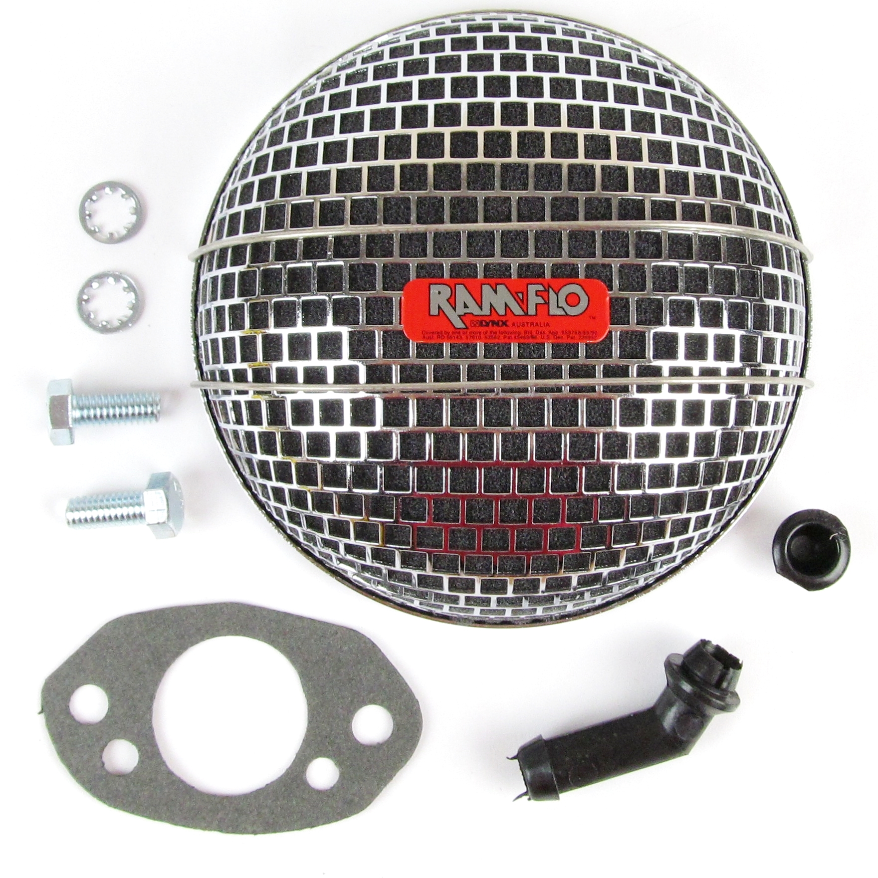 "LYNX RAMFLO AIR FILTER FOR SU HS4 & HIF4 1-½"" CARB/CARBURETTOR"