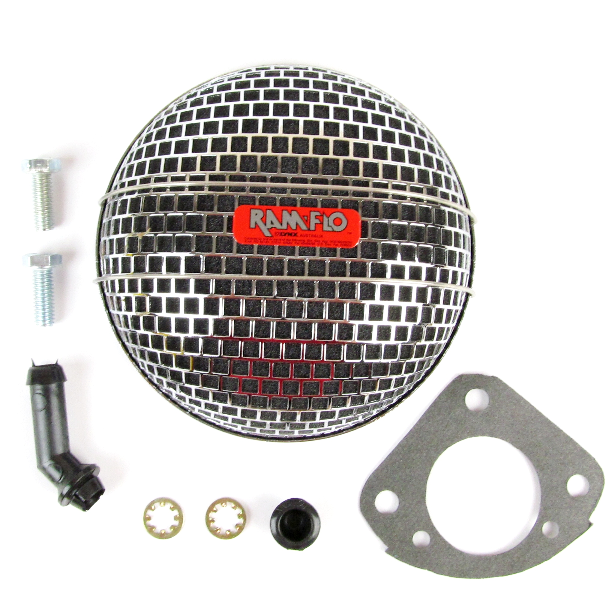 "LYNX RAMFLO AIR FILTER FOR SU HS6 & HD6 1¾ ""CARB / CARBURADOR"