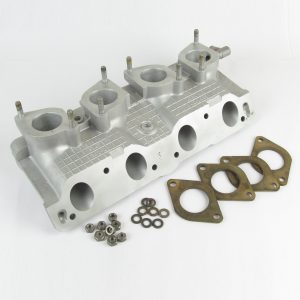 Fiat Twin-cam 'WAFFLE' Inlet manifold to suit twin WEBER/DELLORTO 40 IDF/DRLA Carbs