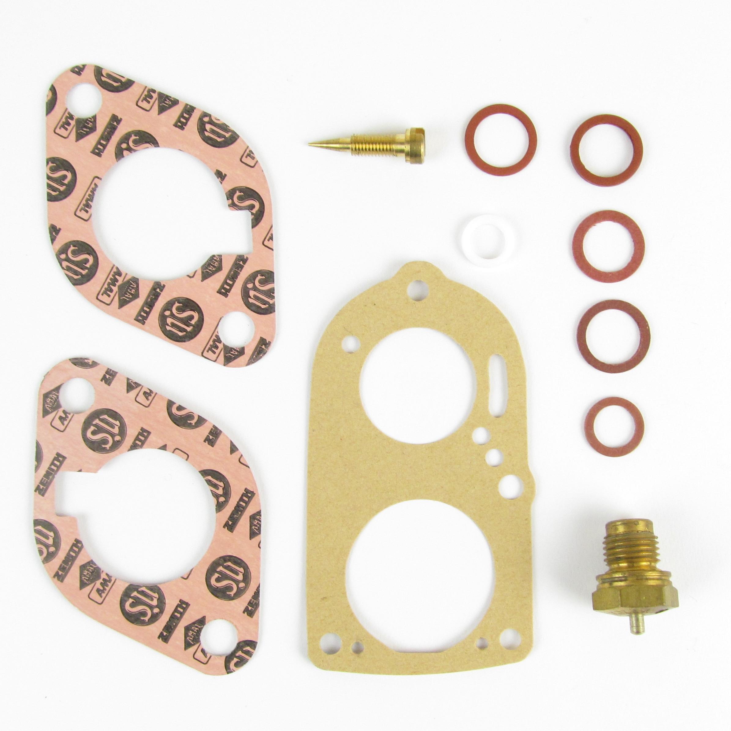 SOLEX B26 ZIC CARB SERVICE / REPAIR / GASKET / REBUILD KIT FORD ANGLIA 100E ETC ..