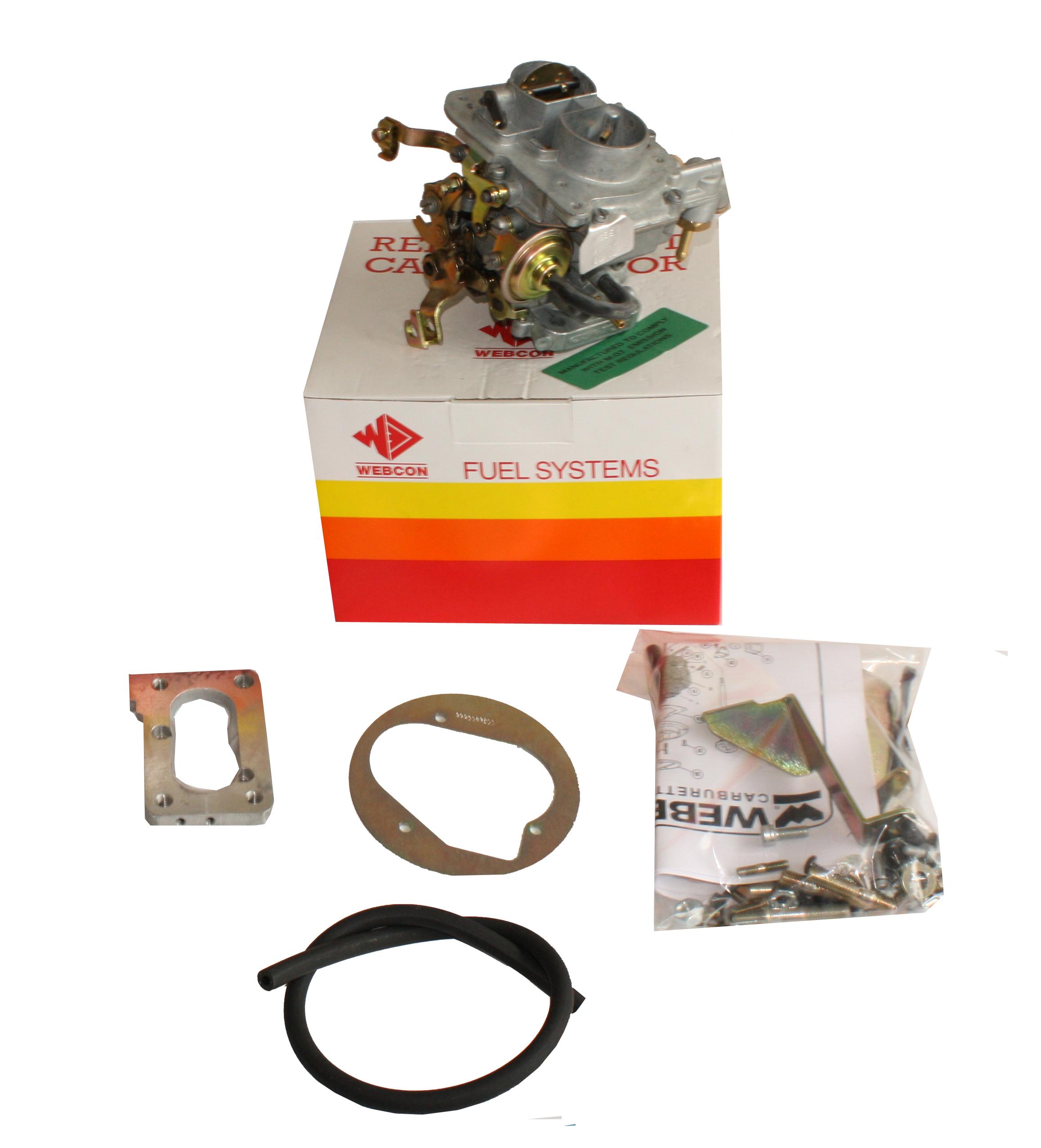 WEBER 32/34 DMTL CARB UPGRADE KIT Audi 80/VW Passat/Santana 1595cc) 1983-91 AUTO