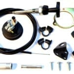 WEBER 32/36 DGAV & 38 DGAS CARBURETTOR MANUAL CHOKE CONVERSION KIT