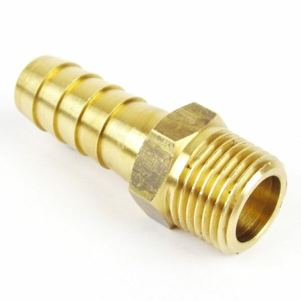 """1 / 2 """"BSPT x 5 / 8"""" (16mm) Prigušnica mjedene cijevi / spojnica crijeva crijeva za vodu"""
