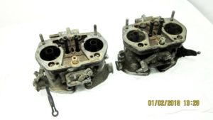 PAIR OF WEBER 40 IDF-CARBURETTORS ALFA-ROMEO ALFASUD / VW-AIR-COOLED
