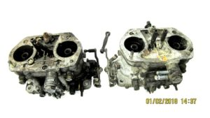 DELLORTO DRLA 40 CARBURETTORS PĀRĒJI ALFA ROMEO ALFASUD / VW AIR COOLED