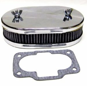 WEBER 36 / 40 / 42 / 44 DCNF CARBURETTOR AIR FILTER / CLEANER KIT (45mm DEEP)