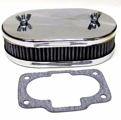 WEBER 36/40/42/44 DCNF CARBURETTOR AIR FILTER/CLEANER KIT (45mm DEEP)